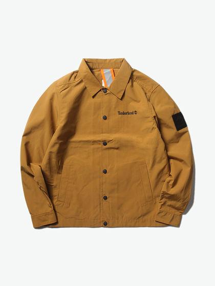 Timberland|添柏嵐|男款|夾克|Timberland 酷玩工裝logo貼布教練夾克【2020春夏新品】