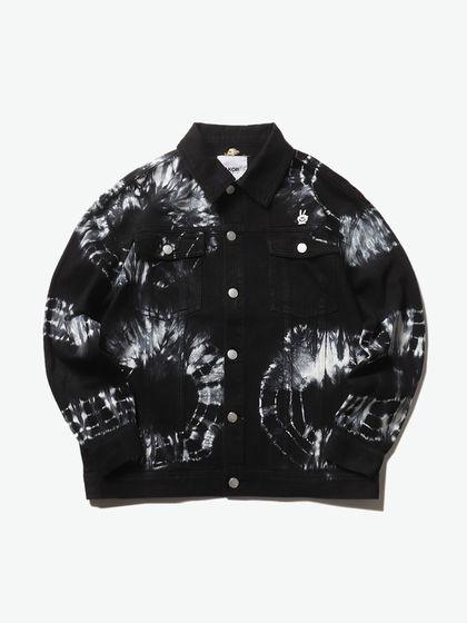 AKOP.|男款|夾克|AKOP. 扎染多袋牛仔夾克