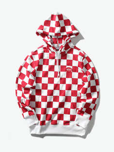 VANS|男|VANS AP CHECKER AOP PO HOODIE【M'S & W'S SEASONAL APPAREL】
