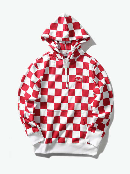 VANS|VANS|男|卫衣|VANS AP CHECKER AOP PO HOODIE【M'S & W'S SEASONAL APPAREL】