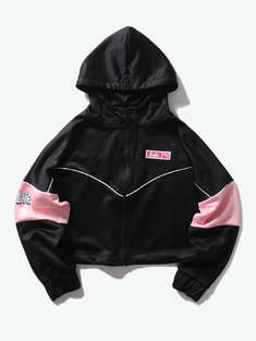 PUMA|女|PUMA X BARBIE XTG Track Jacket 短款连帽夹克
