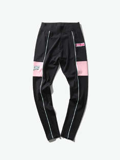 PUMA|女|PUMA X BARBIE Legging 撞色拼接打底裤
