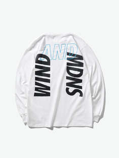MADNESS|男|MADNESS x WIND AND SEA LONG SLEEVES PRINT TEE