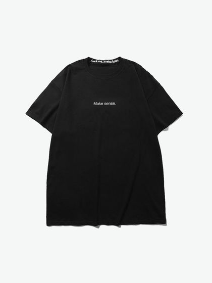 "Fuck art,make tees|Fuck art,make tees|男款|T恤|F.A,M.T. ""Make sense.""slogan短袖T恤"