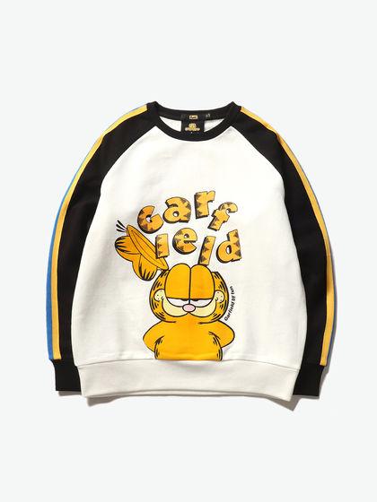 garfield品牌_Garfield by fun 撞色卡通圆领卫衣_Garfield by fun卫衣-YOHO!BUY 有货