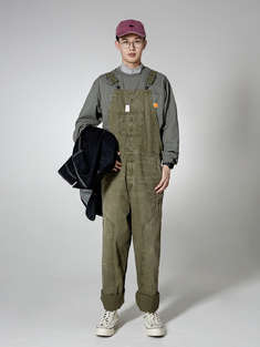 MADNESS|男|休闲裤|MADNESS WASHED OVERALLS