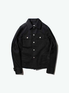 Maison Margiela|男|Maison Margiela   12 oz Black + Exclusive Pinstripe Cloth